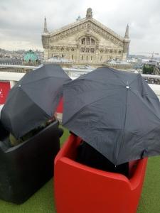Blick vom Dach auf die Opéra Garnier